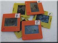 Übertragung von Fotos oder Dias auf DVD